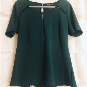 Deep green forever 21 top